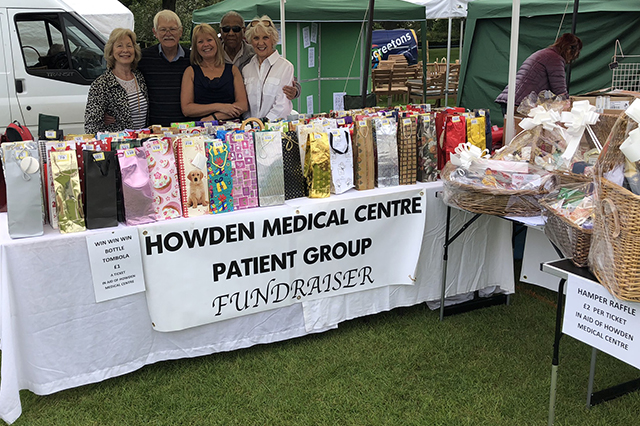 Image of Patient Group table at Howden Show