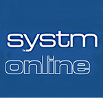 System onlin logo with hyperlink below to portal for ordering prescriptions and booking appointments.